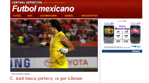 Prensa mexicana afirma que Markarián recomendó a Libman al Cruz Azul