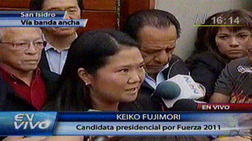 Keiko no descarta convocar a Kuczynski en un eventual gobierno