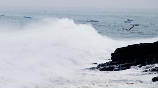 Puertos de La Libertad y Arequipa fueron cerrados por fuerte oleaje