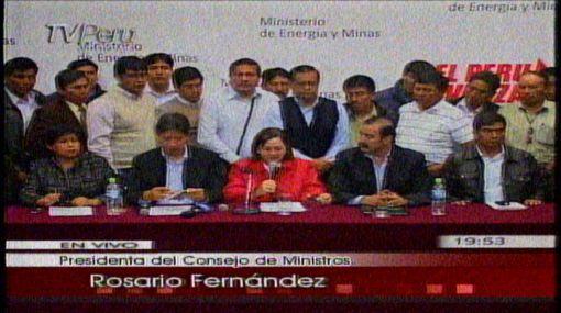 Ejecutivo y autoridades puneñas llegaron a acuerdo por concesiones mineras