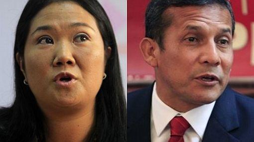 Ipsos Apoyo: Keiko Fujimori 50,5% y Ollanta Humala 49,5%