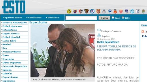 Insólito: hermana de Thalía contrajo matrimonio en pleno velorio de su madre