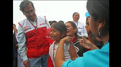 Un millón 800 mil niños ya fueron vacunados contra polio y sarampión