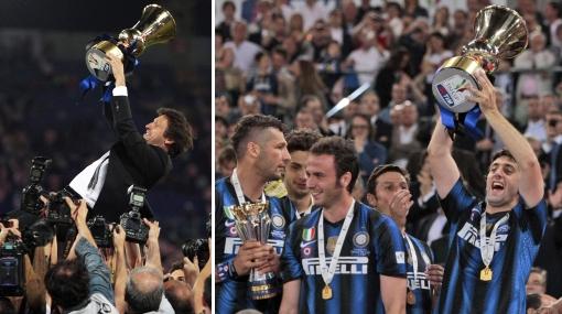 Inter de Milán encontró consuelo ganando la Copa Italia