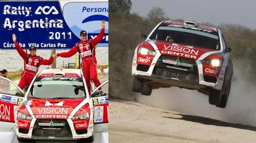 Nicolás Fuchs ya es tercero en el Mundial de Rally