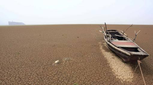 Los lagos chinos están a punto de desaparecer debido a grave sequía