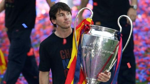 Messi superó en títulos a Pelé, Maradona, Di Stefano y Cruyff