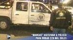 Examinan video que captó asalto a vehículo municipal en SJL - Noticias de ruben rebatta