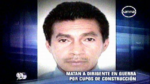'Cholo' Jacinto habría ordenado asesinar a dirigente en SMP