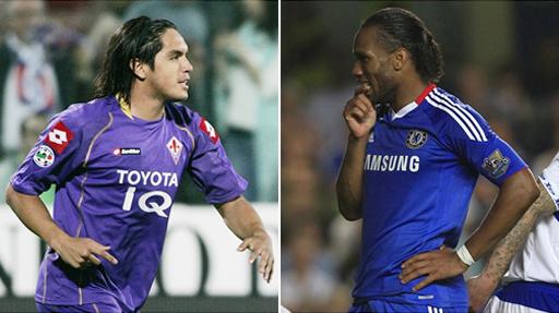 El Milan quiere que el 'Loco' Vargas le dé pases de gol a Didier Drogba
