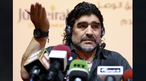"""Maradona llamó """"dinosaurios"""" a los dirigentes de FIFA"""
