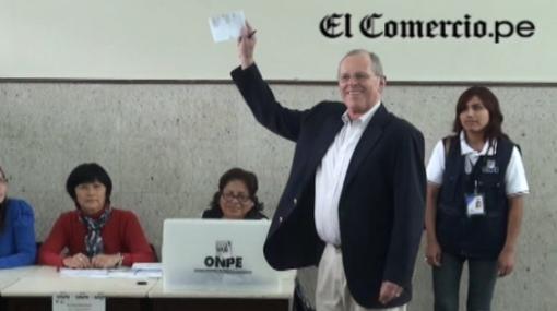 """PPK a electores: """"Voten a conciencia y no en blanco o viciado"""""""