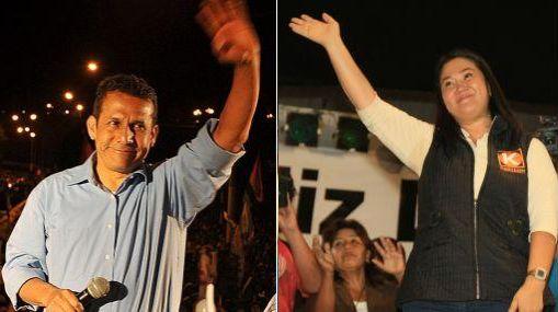 Ollanta Humala venció a Keiko Fujimori en 16 regiones del país
