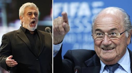 Blatter pretende que Plácido Domingo lave la imagen de la FIFA