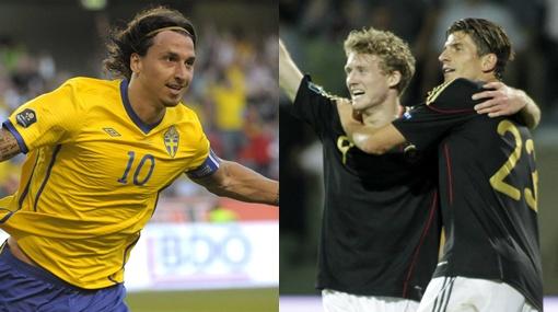 A paso firme: Alemania y Suecia ganaron en su camino a la Eurocopa