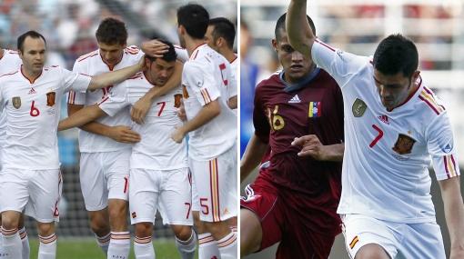 Un gol por millón: Venezuela cayó 3-0 ante España en Puerto La Cruz