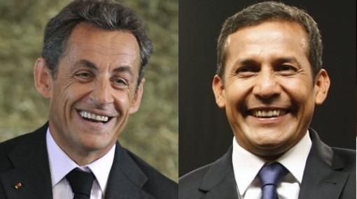 Sarkozy felicita a Humala y expresa deseo de recibirlo en París