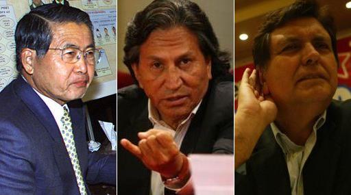 Fujimori, Toledo y García demoraron más de 1 mes en nombrar gabinetes