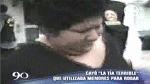 VIDEO: mujer usaba a niños para vender drogas en Carabayllo - Noticias de ericka gamarra