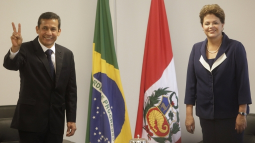 Humala busca abrir más mercado brasileño al Perú, afirma Abugattás