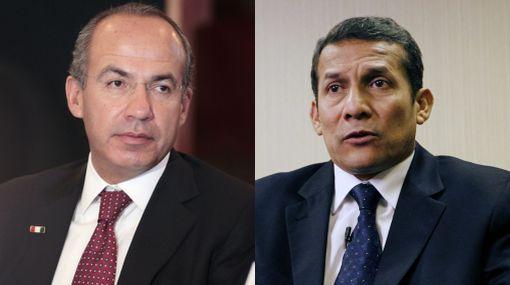 Felipe Calderón invitó a Ollanta Humala a visitar México
