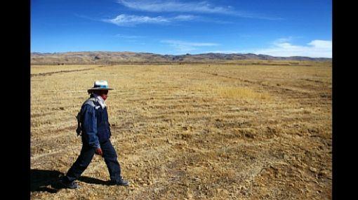 Cambio climático reducirá el agua disponible para la agricultura