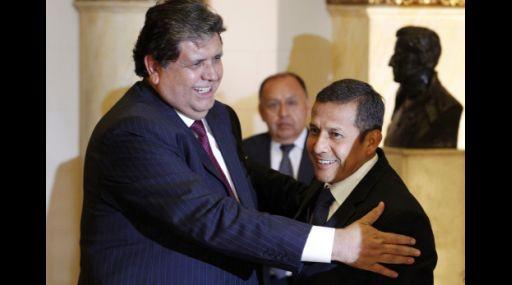 """Alan García: """"Hay que apoyar todo lo que diga Humala"""""""