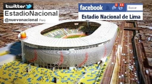 Modernidad del Estadio Nacional también llegó a las redes sociales