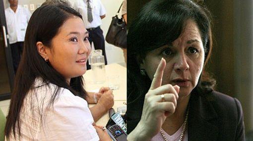 Congreso desestimó denuncia contra Rosario Fernández y Keiko Fujimori