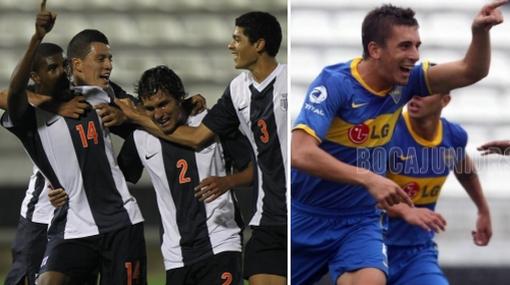 Boca demolió a los 'potrillos' de Alianza Lima con un categórico 4-1