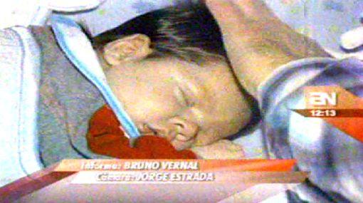 Sergio Galliani y Connie Chaparro presentaron a su hijo Nicola