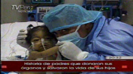Padre de familia devuelve salud a su hija gracias a trasplante de hígado
