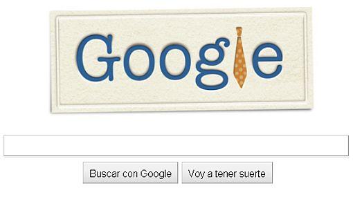Google celebra el Día del Padre con un alegre 'doodle'