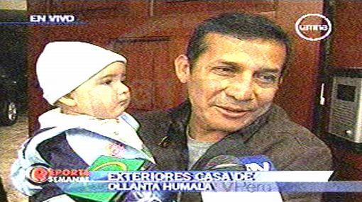 """Humala sobre su alta aprobación: """"Espero salir así dentro de 5 años"""""""