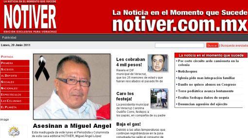Periodista mexicano, su esposa e hijo, fueron asesinados a balazos