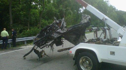 """Así quedó el auto de protagonista de """"Jackass"""" tras choque que le causó la muerte"""