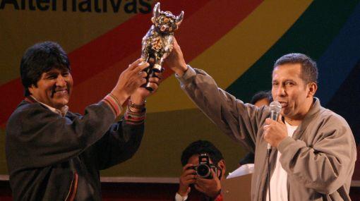Humala y Evo Morales hablarán hoy sobre gas, contrabando y narcotráfico