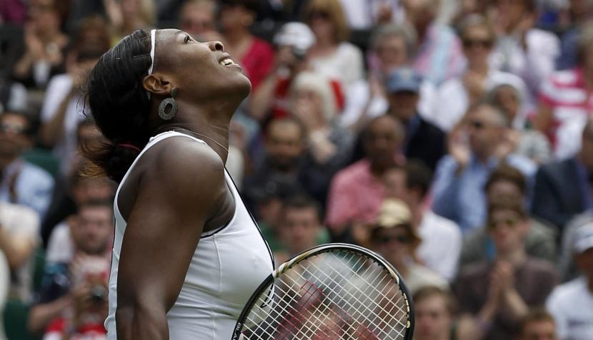 FOTOS: llanto, euforia y sensualidad en el regreso de Serena Williams en Wimbledon