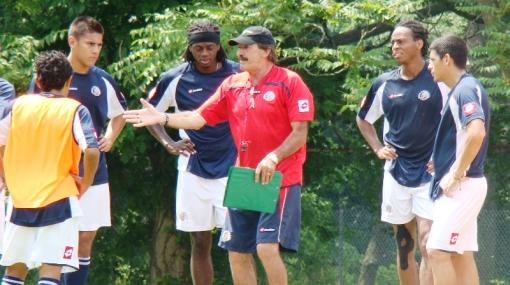 Ticos en acción: Costa Rica inició su preparación para la Copa América
