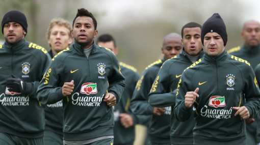 Copa América: Brasil inició sus entrenamientos en tierras argentinas