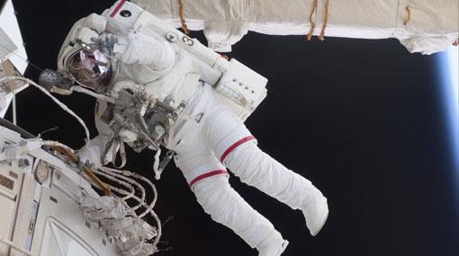 La mayoría de astronautas se marea en el primer viaje espacial