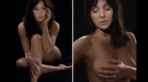 Monica Bellucci luce espectacular a sus 46 años y sin cirugías