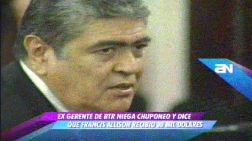 Ponce Feijoo negó que haya habido 'chuponeo' telefónico
