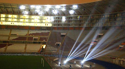 FOTOS: vea por dentro la iluminación interactiva del Estadio Nacional