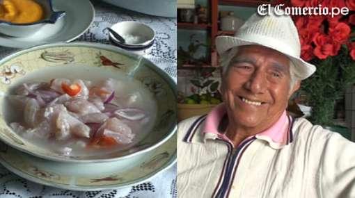 VIDEO: el famoso cebichero Pedro Solari cuenta la historia de este plato