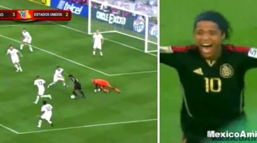 VIDEO: mira el golazo de Giovani Dos Santos en final de Copa de Oro