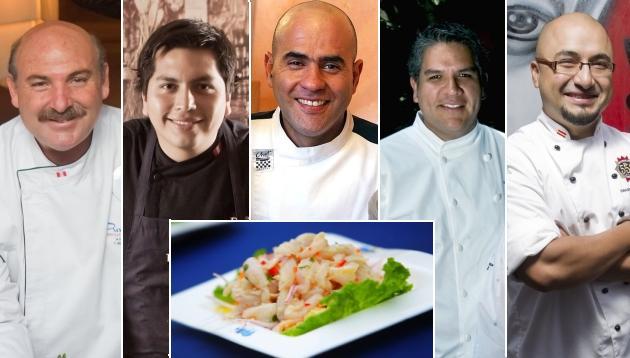 Cinco chefs nos dan sus mejores consejos para preparar cebiche