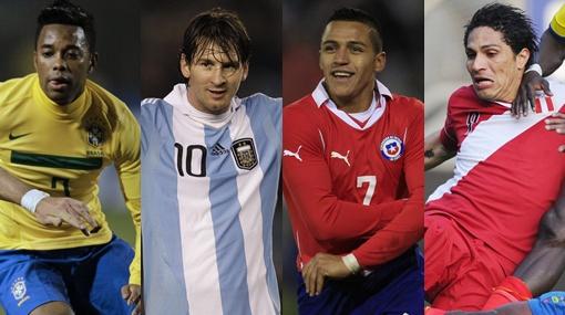 Nóminas oficiales de las 12 selecciones participantes de la Copa América
