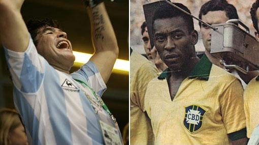 Curiosidades de la Copa América: Pelé y Maradona nunca campeonaron