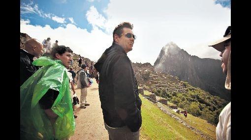 Fascinado con el Cusco: Jim Carrey escala hoy el Huayna Picchu